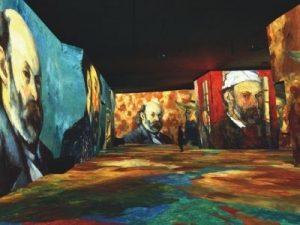 Cezzane event at Carrieres des Lumieres