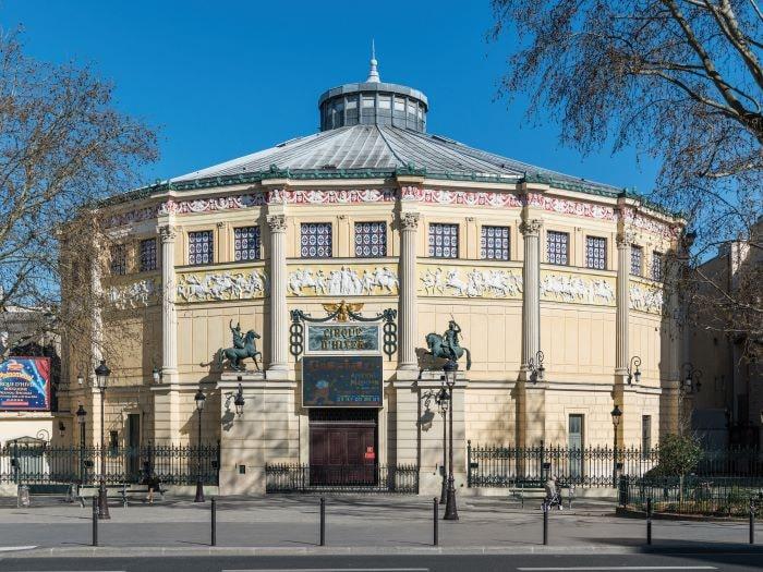 Cirque Scheffer, Paris
