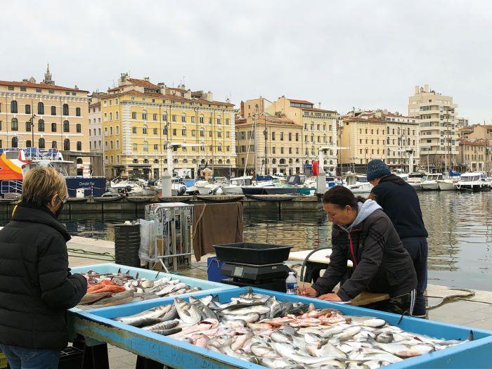 Fish market Old Port
