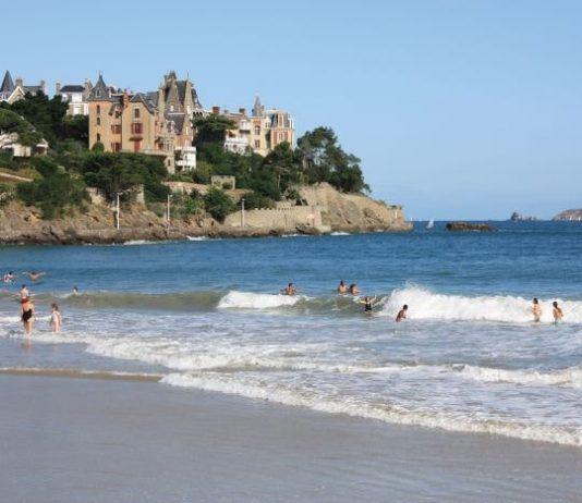Seaside fun at Dinard
