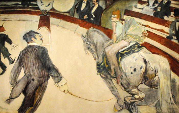 Toulouse-Lautrec_-Equestrienne au Cirque Fernando1887-88