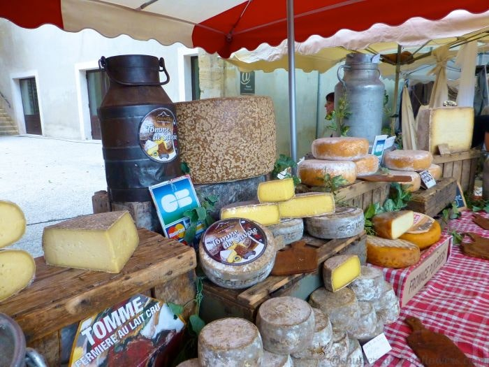 Cheese Stall at a Provencal marché