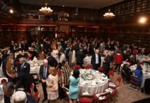 American Library gala at the Automobile Club of France