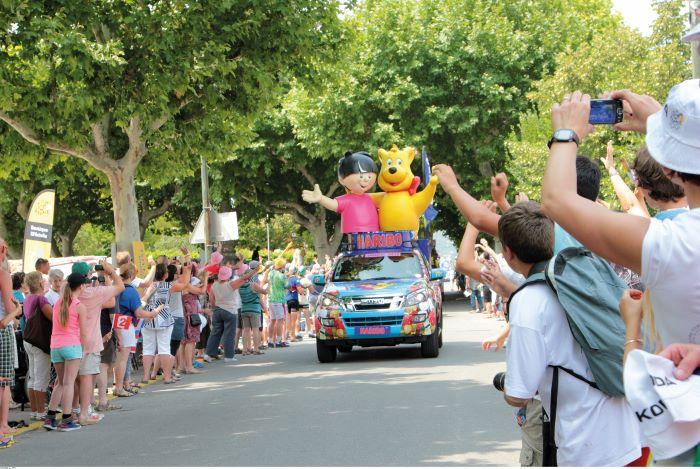 e Tour de France at Bédoin in 2013