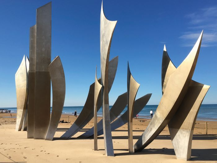 Memorial to the Brave, Omaha Beach