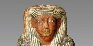 Cercueil de Ptahirdis, momie et bandelettes Date du cercueil