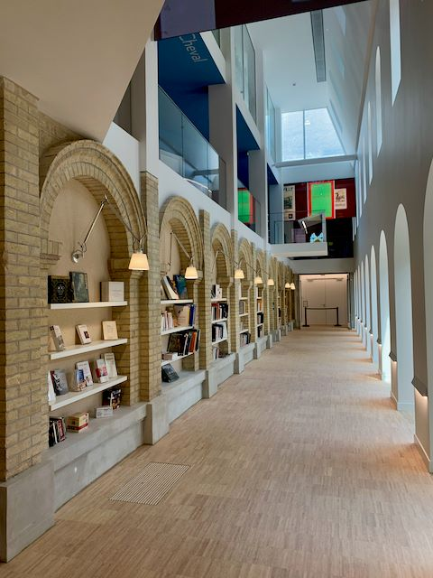 Les Franciscaines Ground Floor Library