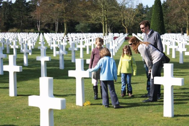 American Cemetery, Colleville-sur-Mer