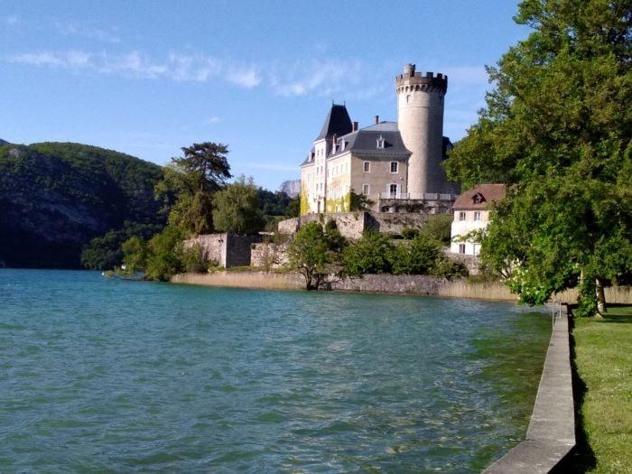 village Duingt on Lake Annecy