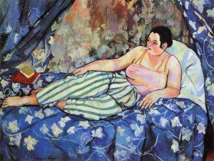 Suzanne Valadon La Chambre Bleue 1923