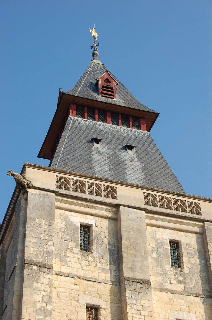; the belfry at Abbeville