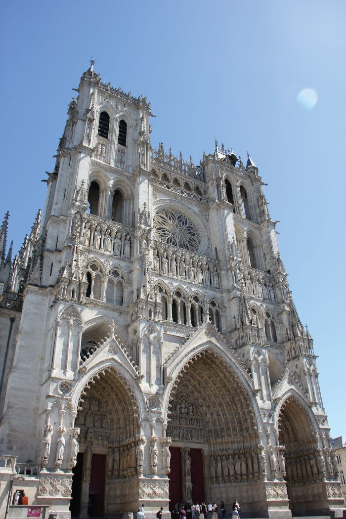 the world-famous Amiens Cathedral