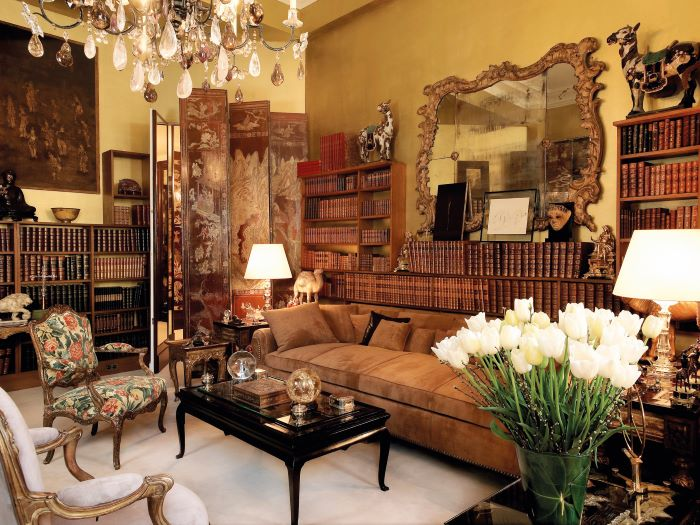 Chanel's Paris apartment, complete with the original furnishings