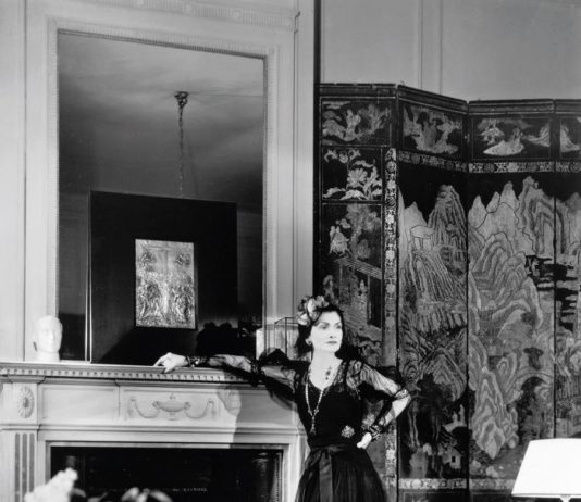 Coco Chanel at the Ritz;
