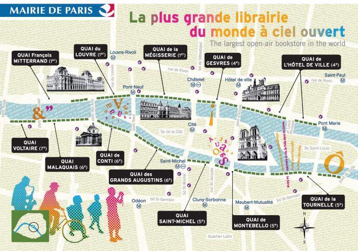 Map Bouquinistes