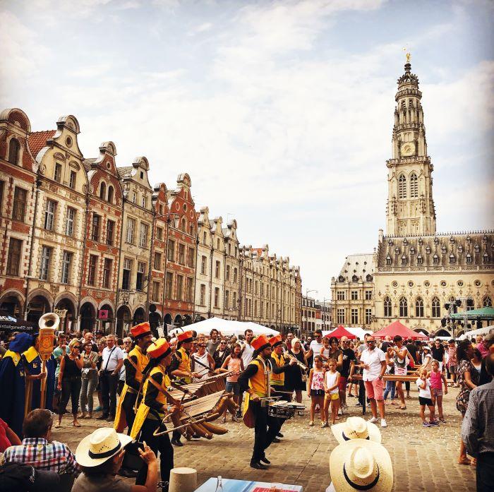 Festivities in Arras