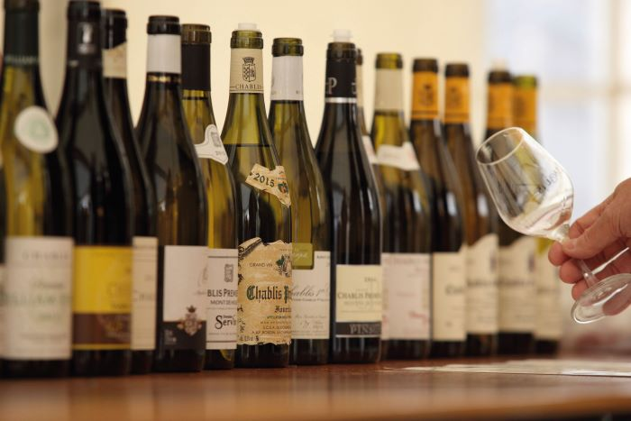 Some of the many fine wines produced in Burgundy (Photo BIVB, Claude Blot)