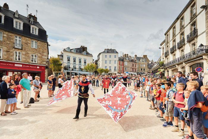 Vannes-Event July Fete Medievale-CREDIT A.Lamoureux - Golfe du Morbihan Vannes tourisme