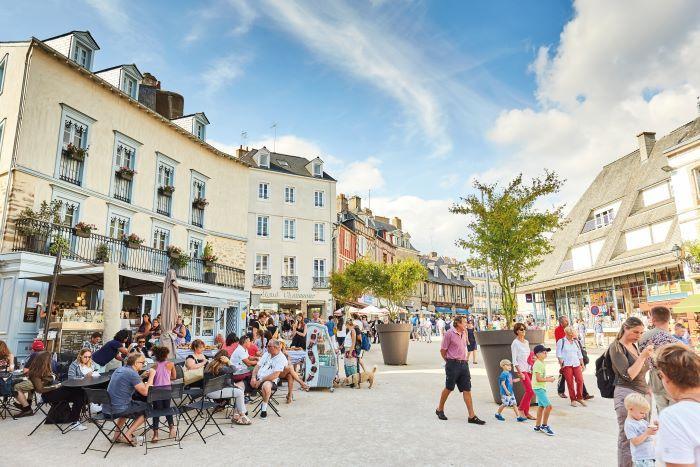 pavement cafe life-CREDIT A.Lamoureux - Golfe du Morbihan Vannes tourisme