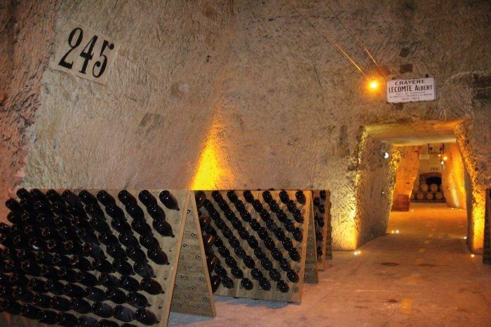 Cave Veuve Cliquot - Reims ©E.Vidal-coll. ADT Marne