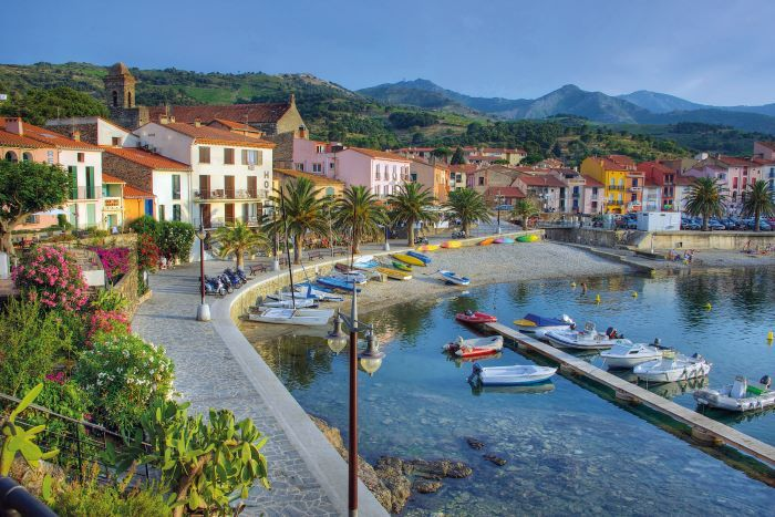 The beauty and incredible light of Collioure has attracted artists such as Matisse and Picasso