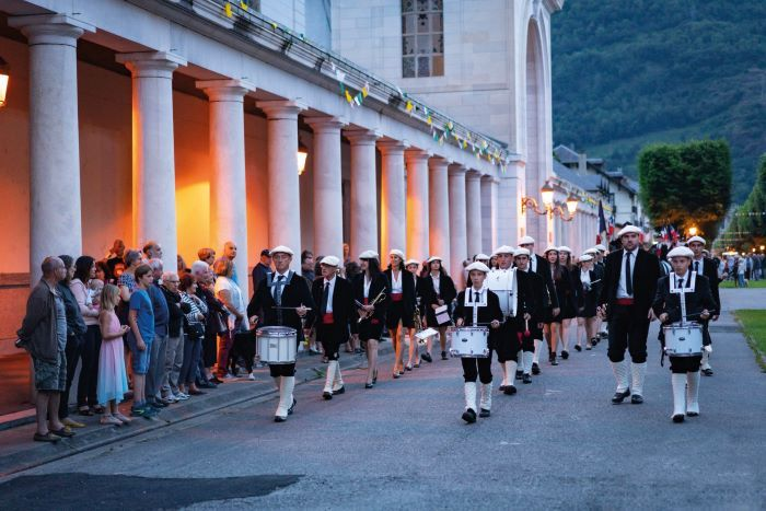 : Luchon's Brandon Festival, which is celebrated in villages in the Pyrenees in France and across the borde
