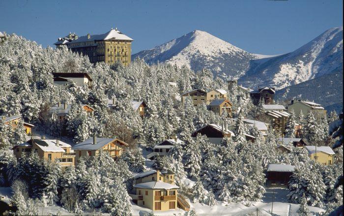 the mountain resort of Font-Romeu-Odeillo-Via