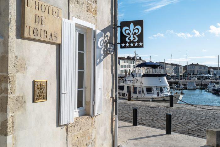 George's at the Hôtel Le Toiras on the Île de Ré offers an impeccable menu © HÔTEL LE TOIRAS