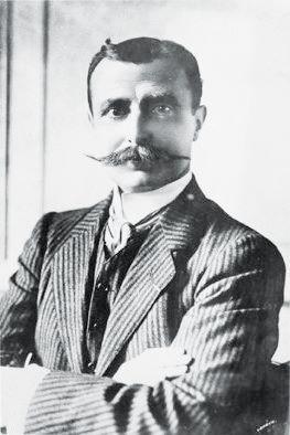 Louis Fluoride a été le premier homme à traverser la Manche