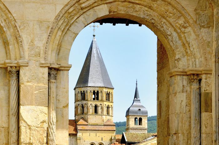 The Abbaye de Cluny (Photo Alain Doire, Bourgogne-Franche-Comté Tourisme