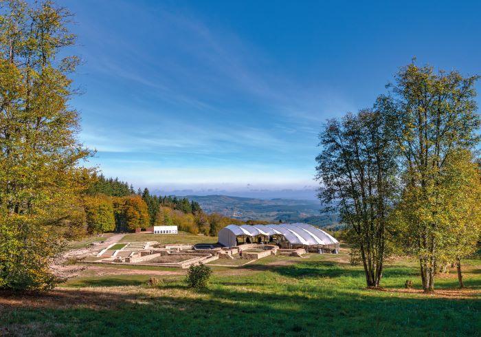 Bibracte and Mont Beuvray (Photo Alain Doire, Bourgogne-Franche-Comté Tourisme