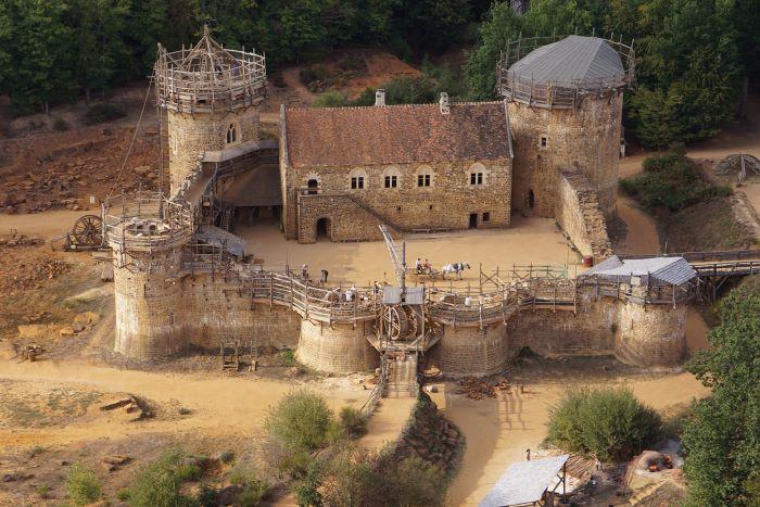 Castle of Guédelon (Photo Sarah Preston, Guédelon