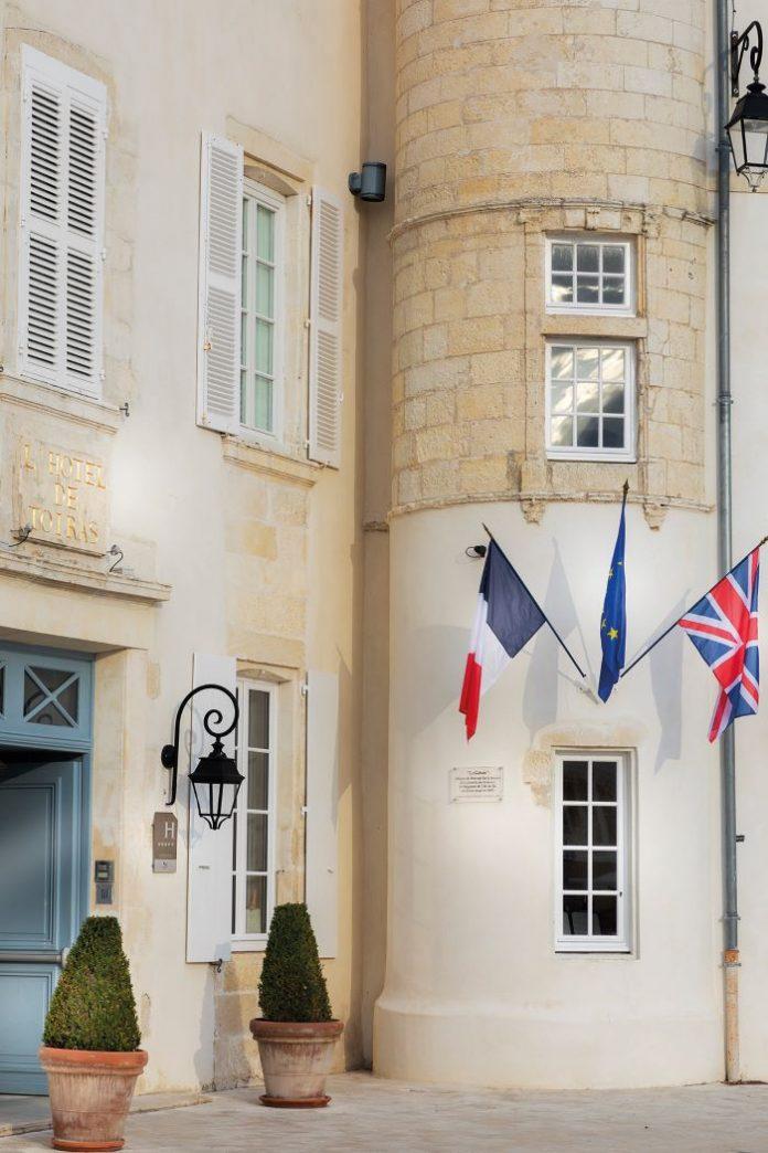 George's at the Hôtel Le Toiras on the Île de Ré offers an impeccable menu