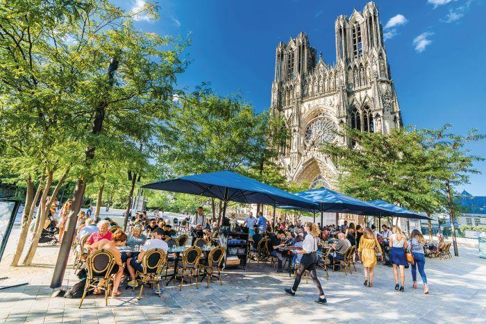 Reims cathedral © Cyrille Beudot-Office de Tourisme du Grand Reims