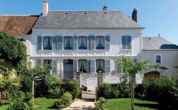 The charming childhood home of Colette in Saint-Sauveur en Puisaye (Photo C Clier, Bourgogne-Franche-Comté Tourisme