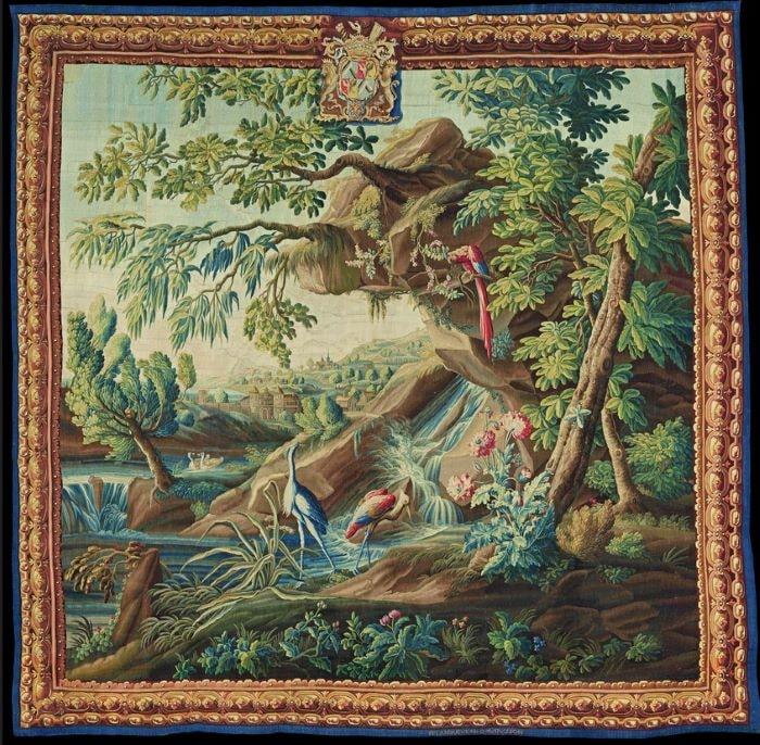La Verdure fine aux armes du comte de Brühl;