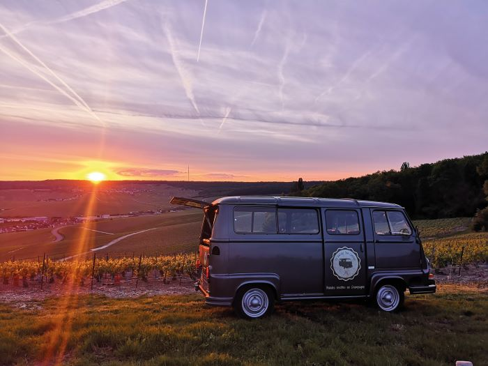 Sunset Champagne Tour © My Vintage Tour Compagny
