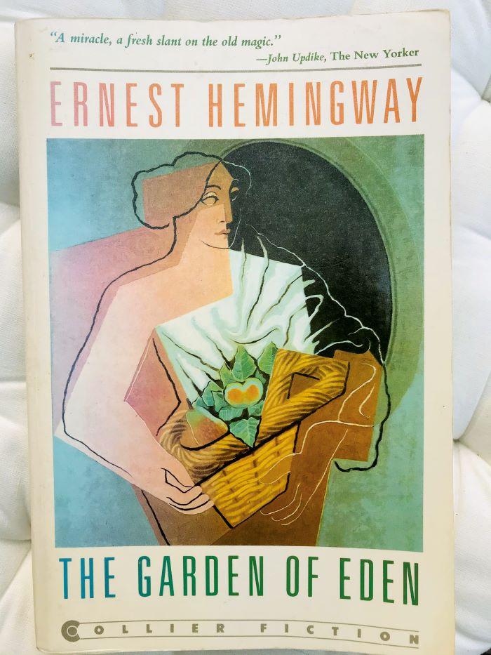, a copy of The Garden of Eden