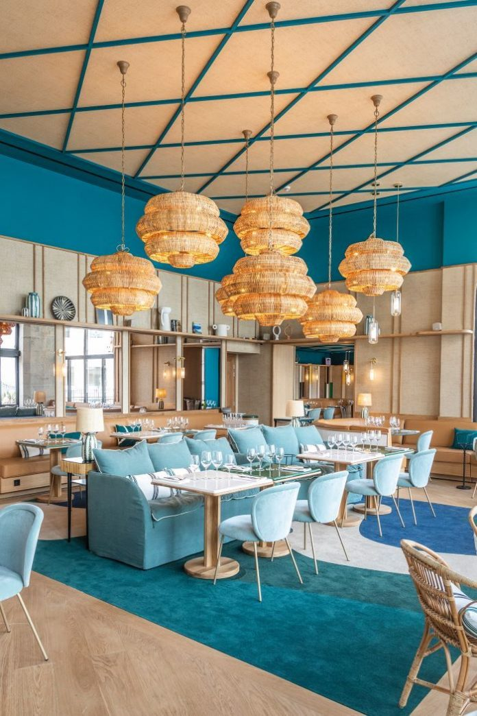 Chef Cédric Béchade reimagines local dishes in his signature style at the delightful Café Basque in Biarritz