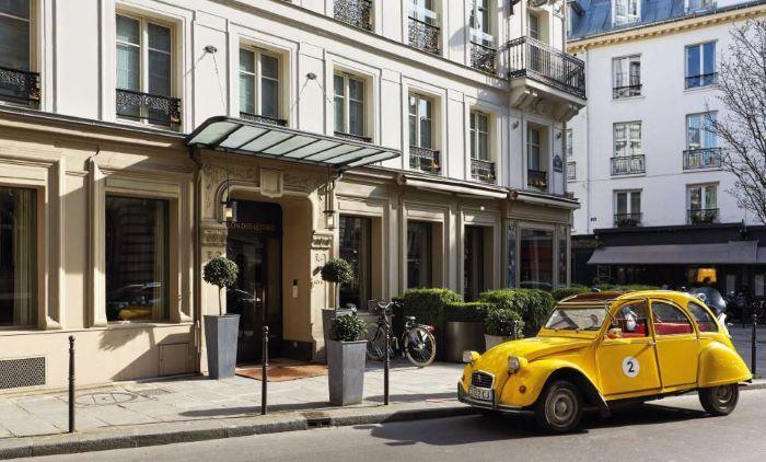 Le Pavillon des Lettres is located in a rare quiet spot in the 8th arrondissement ©