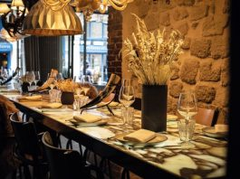 Liquide, Matthias Marc's new address in the heart of Paris, is a shining example of the very best of contemporary French cuisine © LIQUIDE