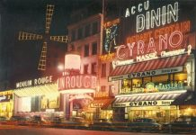 ; Alfred Hitchcock researched the sets at the Moulin Rouge