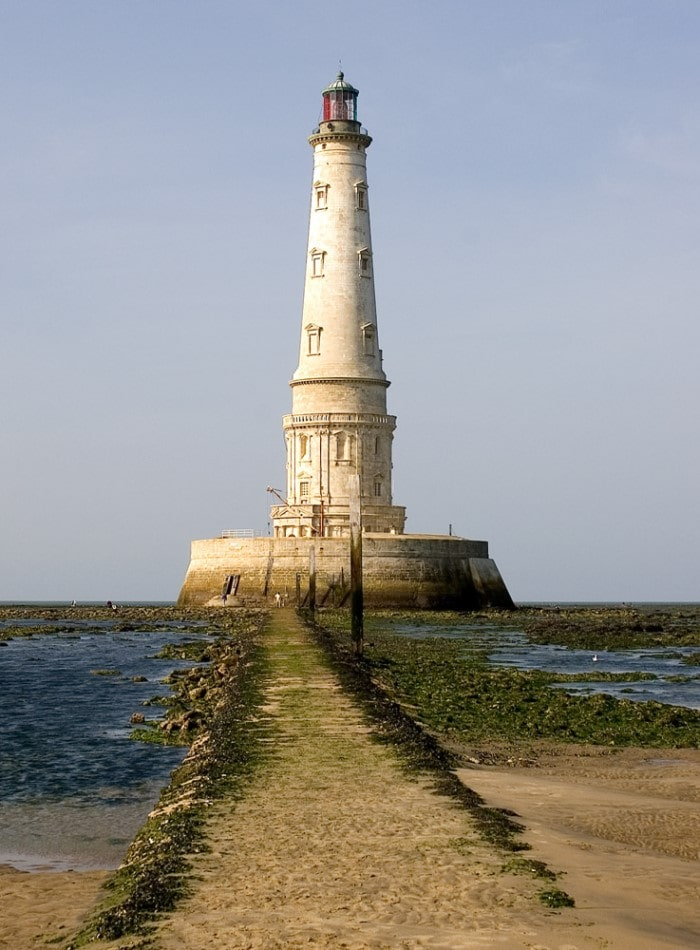 Cordouan Lighthouse one hour before low tide