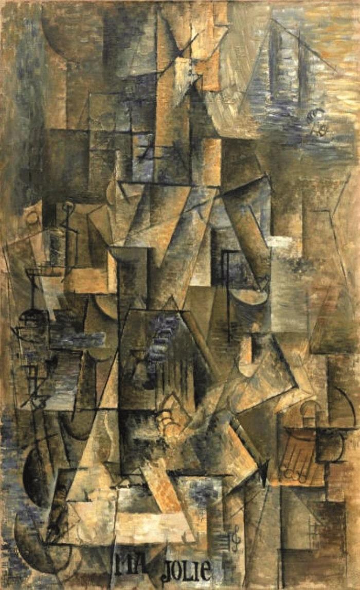 Pablo Picasso Ma Jolie
