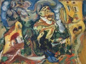 Chaïm Soutine, Le Village, vers 1923